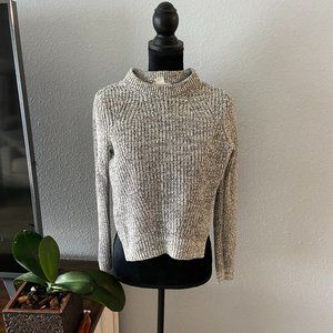Heater grey slat and pepper sweater XS